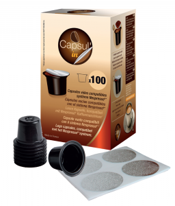 100 compatible capsule nespresso